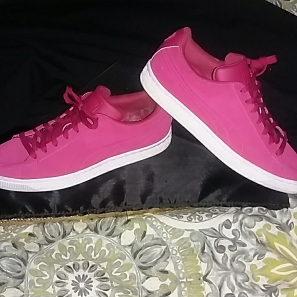 Puma Other - Puma Pink men's sz 10 woman's sz 12